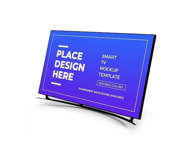 Design de maquete 3d para smart tv