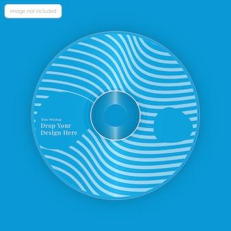 Design de maquete de capa de disco de cd