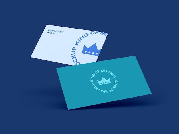 Design de maquete de cartão de visita isolado