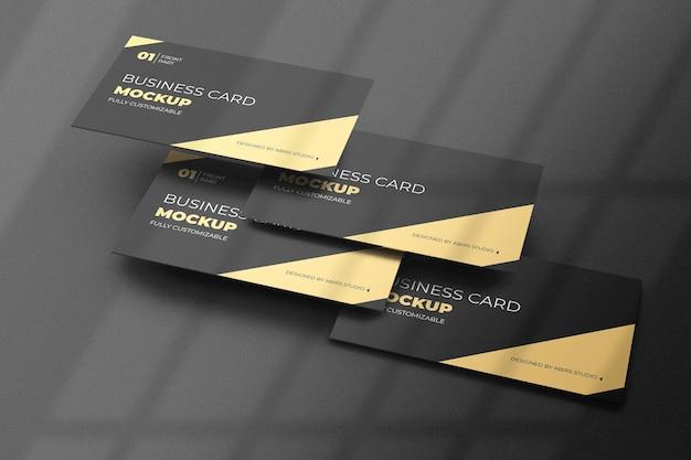 Design de maquete de cartão de visita isolado Psd Premium