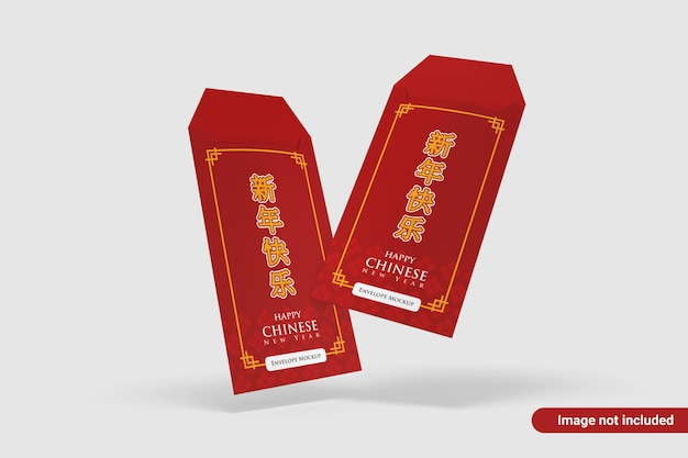 Design de maquete de envelope multiuso
