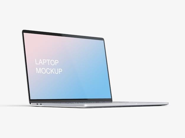 Design de maquete de laptop