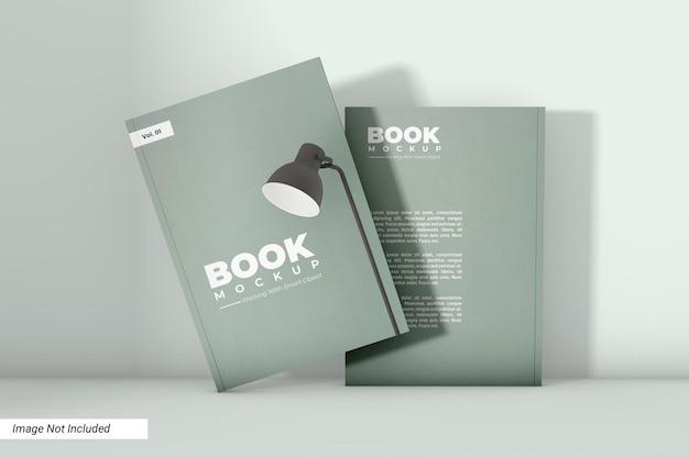 Design de maquete de livro de capa mole