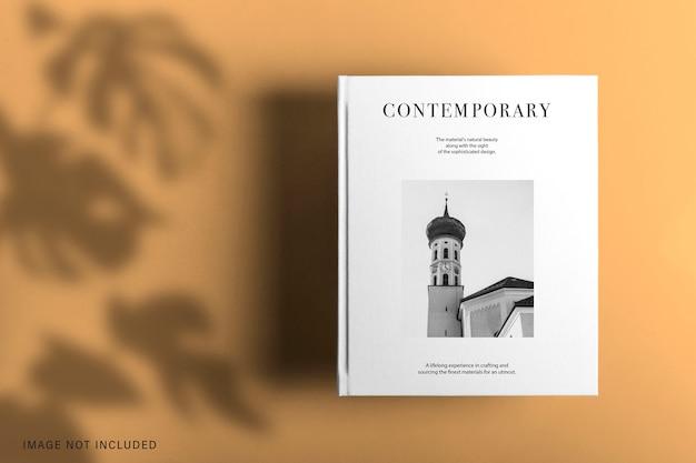Design de maquete de livro de capa