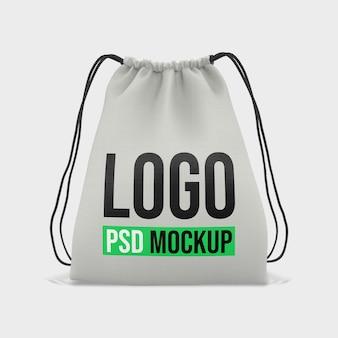 Design de maquete de renderização 3d de sacola Psd Premium