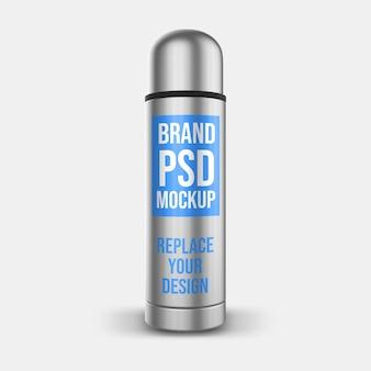 Design de maquete de renderização 3d do tumbler