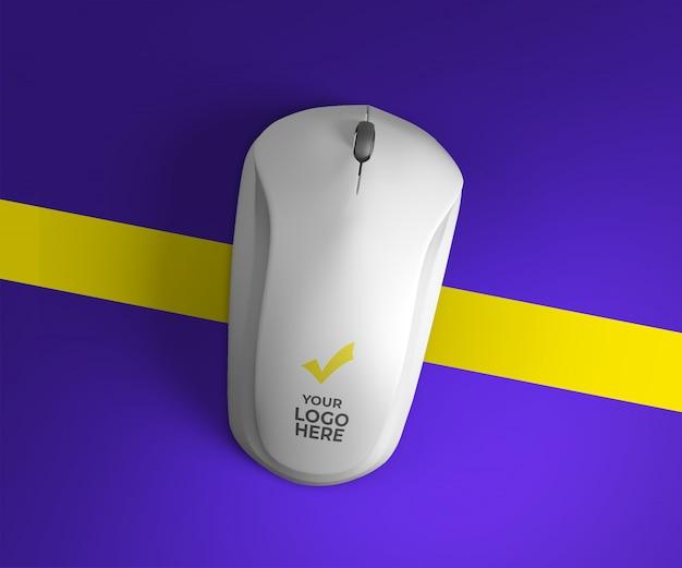 Design de maquete do mouse