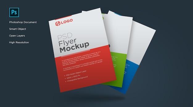 Design de modelos de panfletos e pôsteres