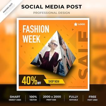 Design de pirâmide de mídia social