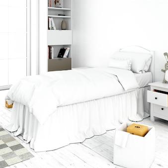 Design de quarto de cama interior
