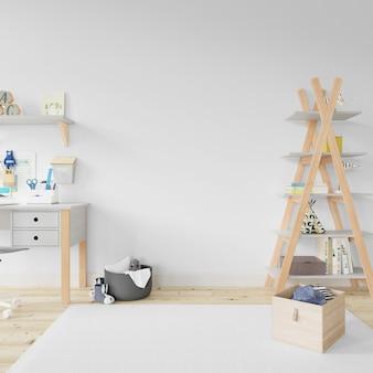 Design de quarto interior de berçário