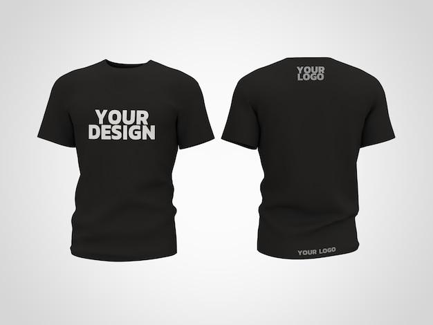 Design de renderização 3d de maquete de camiseta