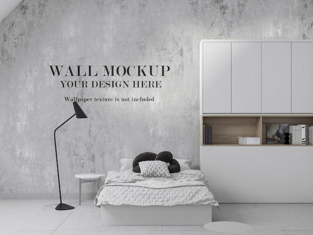 Design incrível de maquete de parede de quarto infantil