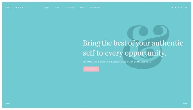 Design moderno site multiuso, modelo de página de destino