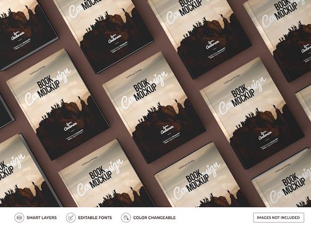 Design realista de maquete de livro de capa dura Psd Premium