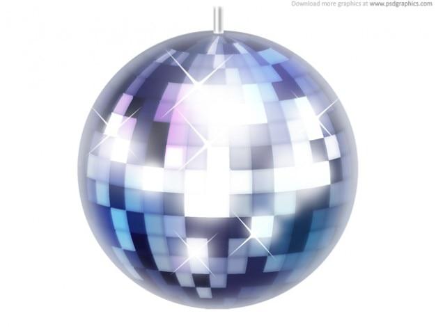 Disco bola ícone (psd)