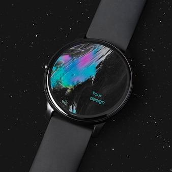 Dispositivo digital de maquete de tela smartwatch Psd grátis