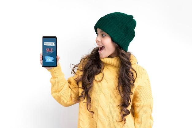 Dispositivos eletrônicos nas vendas na temporada de natal
