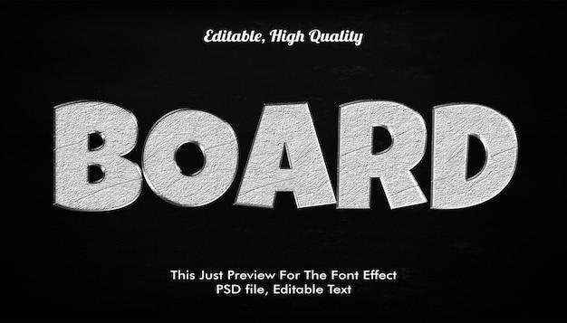 Efeito de estilo de texto 3d Psd Premium