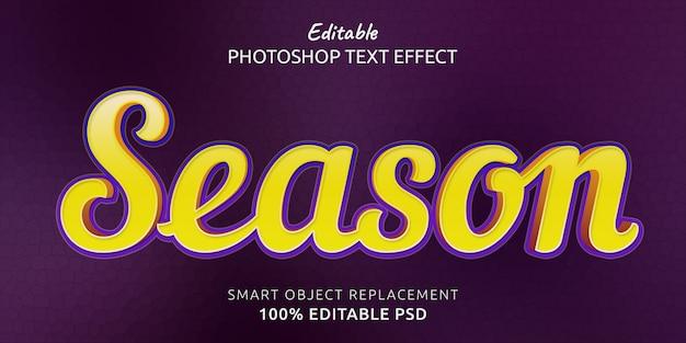 Efeito de estilo de texto editável no photoshop da estação