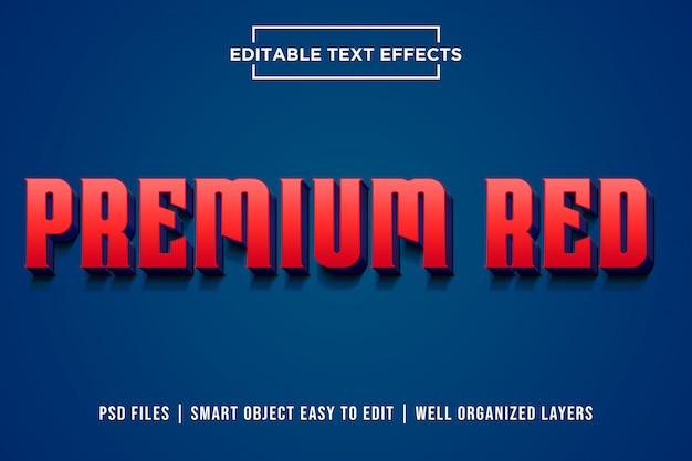 Efeito de texto 3d premium psd