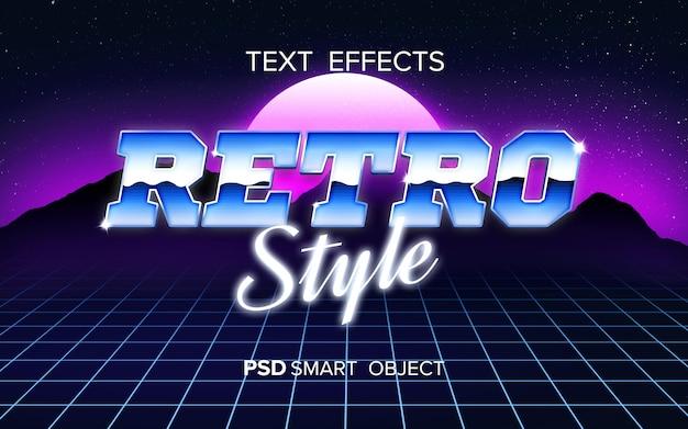 Efeito de texto arcade retrô