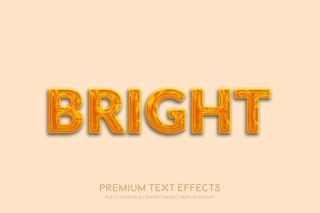 Efeito de texto brilhante