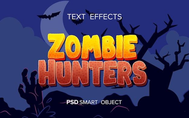 Efeito de texto do jogo de aventura