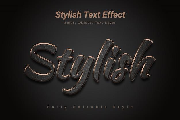 Efeito de texto elegante
