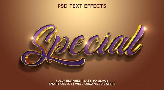 Efeito de texto especial