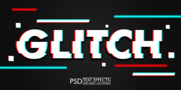 Efeito de texto glitch