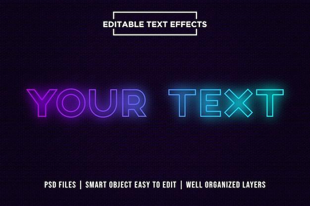 Efeito de texto gradiente