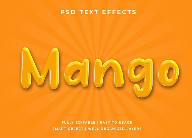 Efeito de texto manga 3d