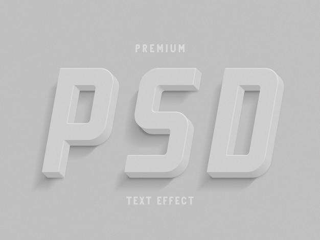 Efeito de texto psd premium
