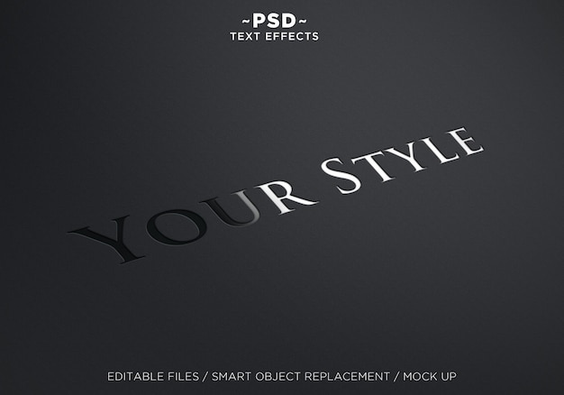 Efeito de texto your style