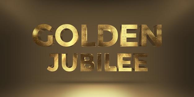 Efeito moderno de estilo de texto dourado