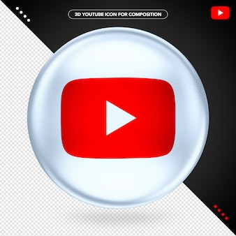 Ellipse white 3d no youtube