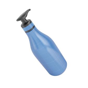 Embalagem de shampoo