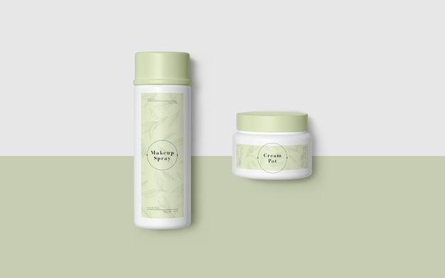 Embalagem verde de produtos cosméticos