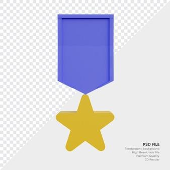 Emblema de medalha de classificação