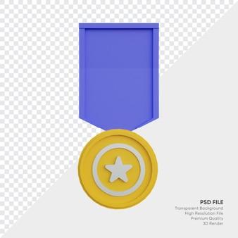 Emblema de medalha de prêmio