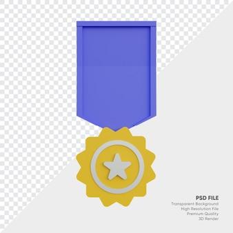 Emblema de medalha do campeonato