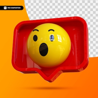 Emoji de cara feliz 3d