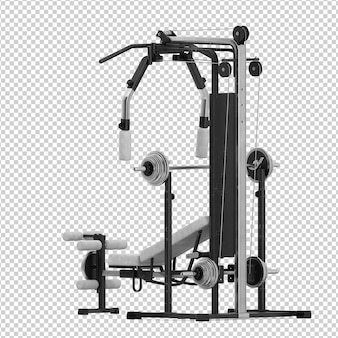 Equipamento de ginástica isométrica