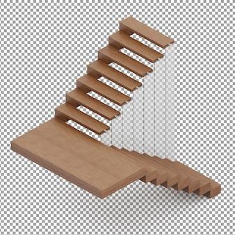 Escadas isométricas