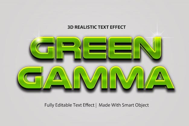 Estilo de camada de efeito de texto cinematográfico de videogame