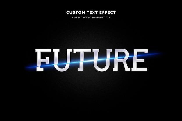 Estilo de texto 34 futurista