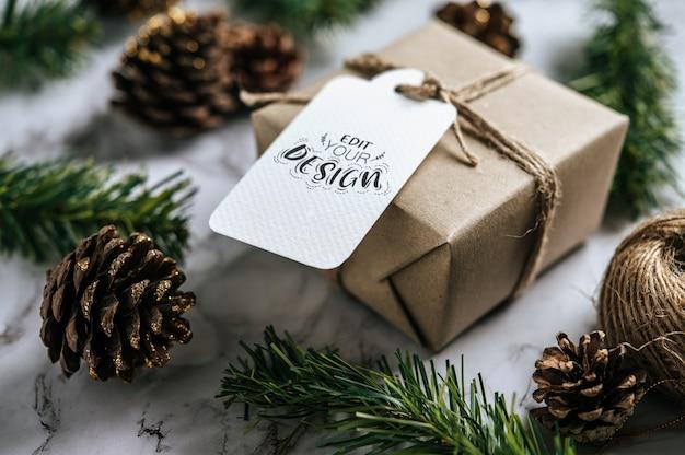 Etiqueta de presente de natal