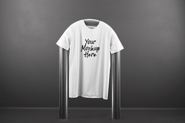 Expositor de maquete de camiseta suspensa