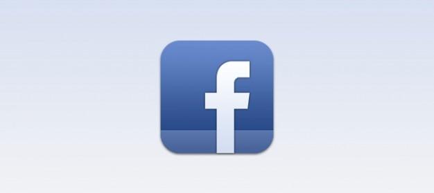 Facebook ios ícone psd